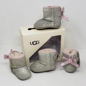 UGG Jessie bow metallic boots